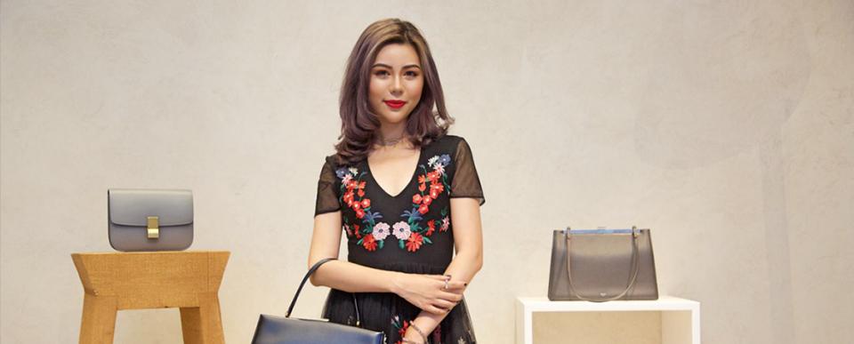 时装周秀场头排新面孔吕茜:从帕森斯走出的亚洲新名媛