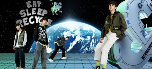 "JACK & JONES杰克琼斯携手马来西亚艺术家 Radio Woon 发布""未来潮流""联名系列"